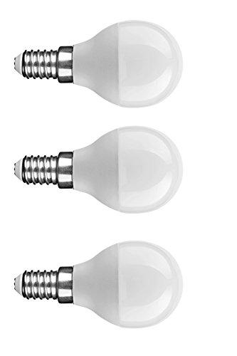 NuLoXx 3er Pack LED Globe Mini G45 7W/840 4000K E14 neutralweiß 550LM AC 220-240V, 180° Abstrahlwinkel, Herstellergarantie: 3 JAHRE!!