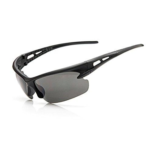 jiamins–Gafas de sol protectoras anti-UV, gafas de sol, gafas de seguridad, Safety Goggles, negro