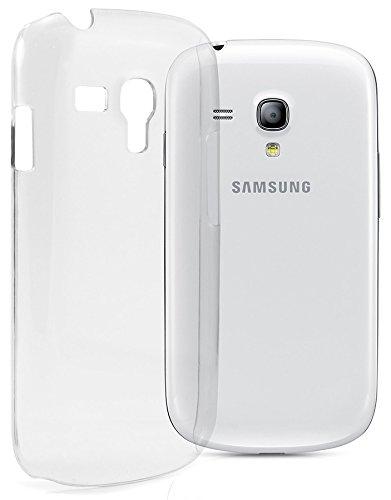 itronik Hülle kompatibel mit Samsung Galaxy S3 Mini i8190 Ultra Slim Crystal Case Schutzhülle Hülle Hart Case Cover Tasche