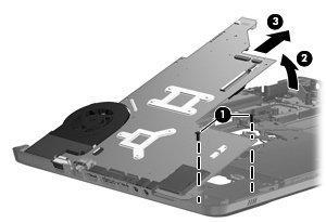 HP 609787–001Notebook Spare Part Komponente für Laptop (Motherboard, Pavilion dv7–4000, dv7–4100) blau
