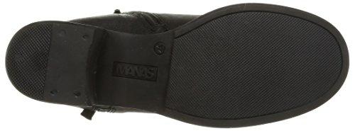 Manas 152M 3503, Boots femme Noir (Nero/Nero)