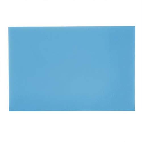 Blocchi per intaglio del timbro di gomma, morbido facile intagliare intagliare il blocco intaglio blocco per timbri fai-da-te fare hobby artigianato per principianti e professionisti(Blu bianco)