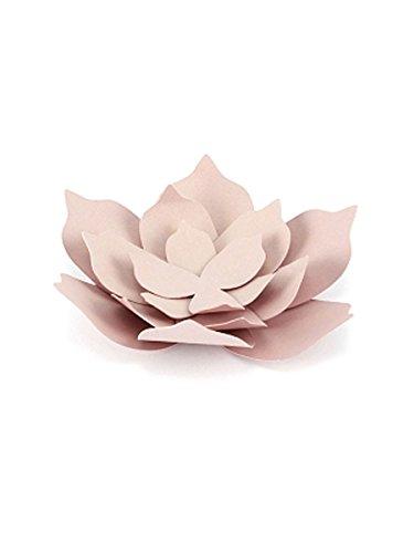 Set di 3 fiori in carta decorativi color cipria allestimento matrimonio festa evento party compleanno