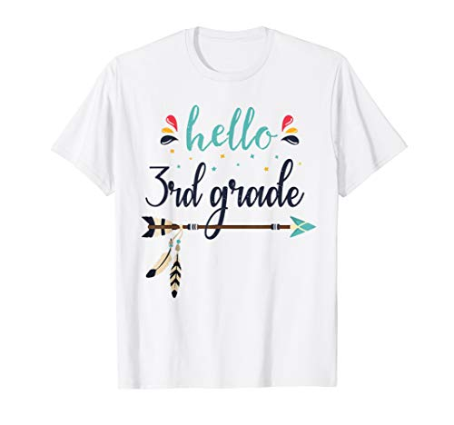 Kostüm Zurück Zu Schule - Hello 3rd Grade Lehrer zurück zum ersten Schultag T-Shirt