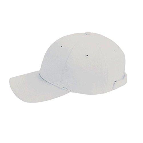 Zeus Basic Bonnet Casquette Golf Baseball Coton Unisexe, Mixte Adulte Hommes, Weiss
