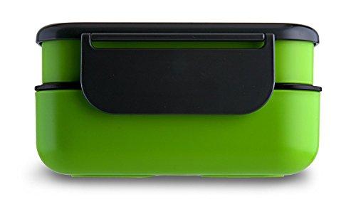 LeOx- Lunchbox Bento Lunch Box Porta Pranzo ermetico Food Container Sacco per il Pranzo Contenitore per alimenti - verde