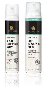 Solitaire 3-Fach Imprägnierspray für Leder, Textil & Kunstfasern 200 ml