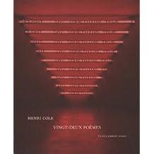 Vingt-deux poèmes