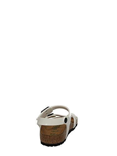 Birkenstock Taormina, Sandales Fille Bianco