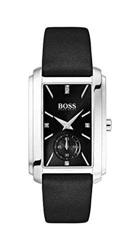 Hugo Boss Watch Reloj Analógico para Mujer de Cuarzo con Correa en Cuero 1502436