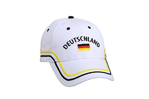 86057e797bdcad Deutschland Basecap / Fan Cappy - Cappie / Cap / Fußball WM / Handball EM -