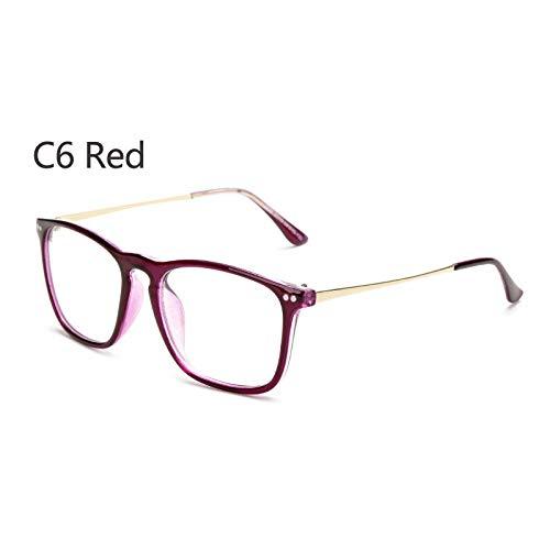 YMTP Square Eye Glasses Frames Für Männer Designer Female Grade Brille Brillengestell Computer Brillen