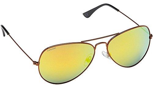 Cressi Nevada Sonnenbrille, Cooper/Gelb Linses, One Size