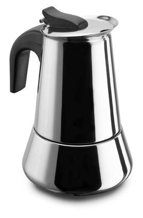Pezzetti BELEXPRESS - acciaio inossidabile del caffè, 6 tazze