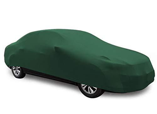 YDS SHOP Indoor Gewidmet Autoabdeckung,Passgenau Elastizität Autokleidung Geeignet für for V̈ÓLK̃ŠWÁGÉN,Garage,Autosalon,Autohändler Verwenden Sie Grün Car (Color : Lupo)