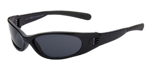 Sport Sonnenbrille Eliminator Art. 4003-1 Rahmen: schwarz / Gläser: schwarz