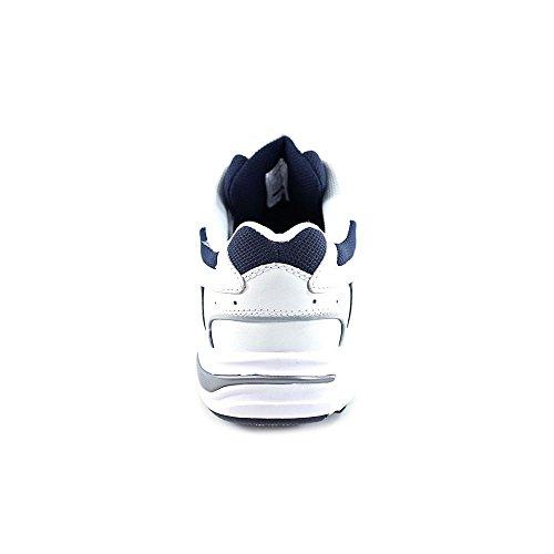 Vionic Women's Walker Classic Shoes, 10.5 2E US, White/navy White/navy