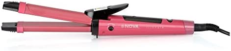 Nova NHC - 990 Hair Straightner + Curler Hair Beauty set
