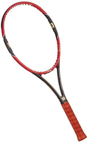 Wilson Pro Staff 97 S TNS FRM W/O CVR 3 - Raqueta, Color Rojo/Negro, Talla 3