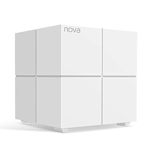 Tenda Nova MW6 Whole Home Mesh Router Sistema WiFi de Red en Malla para el hogar Banda Dual Cobertura hasta 500㎡, Mu-MIMO,Control Parental, Funciona con Alexa Nova Whole Home Mesh Route Pack3