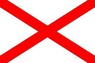ST PATRICKS Kreuz Tag Irish 3'x 2' 3Ft X 2Ft Flagge mit Ösen Premium Qualität Irland