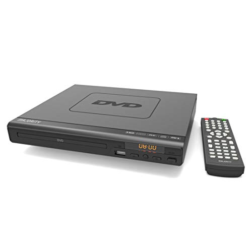 31qeeS0F65L. SS500  - MAJORITY Scholars Milton Compact DVD Player, Multi-Regions 1/2/3/4/5/6, USB port, Remote Control, DivX, RCA Audio Cable for TV connect, HDMI port(Black) (Scholars)
