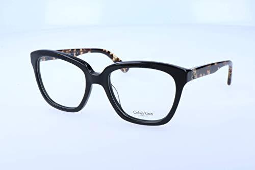 Calvin Klein Damen Brillengestelle, Black, 52