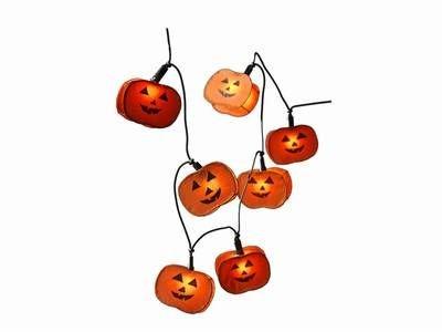 """Halloween-Lichterkette """"Pumpkin"""" von Bella-Vita GmbH - Lampenhans.de"""