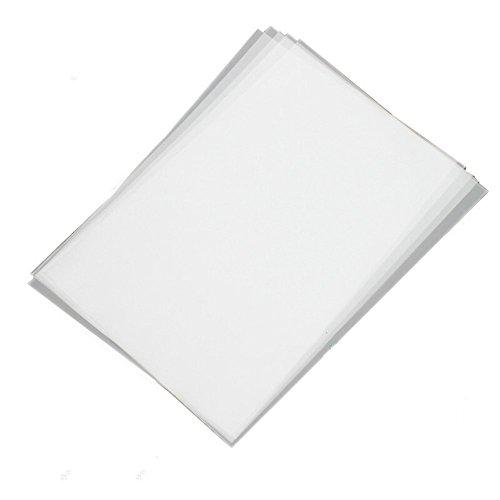 100 Blatt Transparentpapier klar DIN A4 weiß bedruckbar
