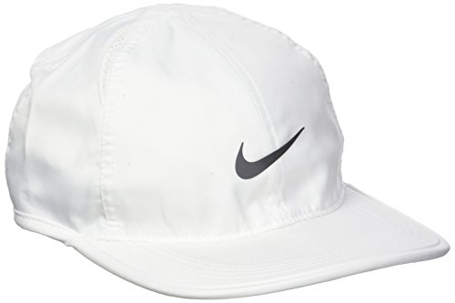 Nike Men Featherlight Adjustable Cap - White/White/Mtlc Dark Grey, One Size  - Buy Online in UAE. | Sports Apparel Products in the UAE - See Prices,  Reviews ...