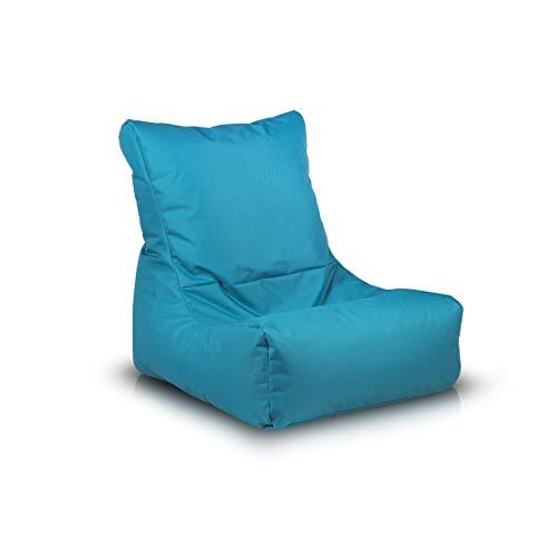 Ecopuf Sakura Sitzsack Abdeckung,aus Polyester, Ideal Für Jugendliche und Erwachsene, 85x85 cm,...