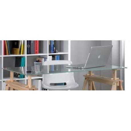 ASTIGARRAGA Mca1037003 Dessus de Table en Verre trempé, Verre, 140x72cm