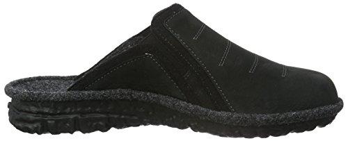 Pantofole Romika Men Mikado H 49 Nere (nero 100)