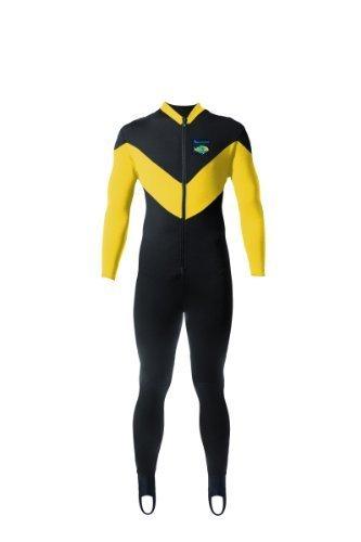 Aeroskin Full Body Suit Spine/Kidney (Black/Yellow, X-Large) by Aeroskin preisvergleich