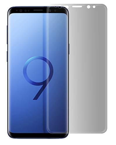 MyGadget Blickschutz Folie für Samsung Galaxy S9 - Privacy Panzerglas 9H Displayschutz - Anti Spy Screen Glasfolie Displayfolie abgerundete Schutzfolie