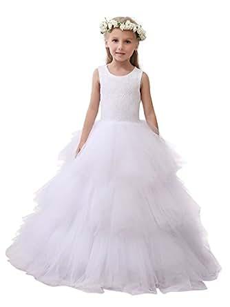 Micbridal robe de bapt me robe de soir e c r monie mariage enfant fille demoiselle d 39 honneur - Robe de demoiselle d honneur enfant ...