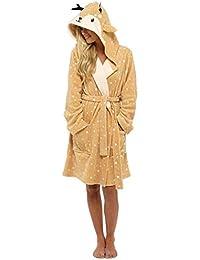 7ccaa1c7c1 Amazon.co.uk  Orange - Dressing Gowns   Nightwear  Clothing