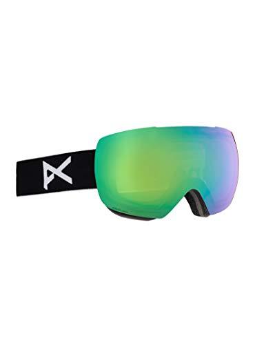 Anon Herren Mig Snowboardbrille, Black/Sonar Green