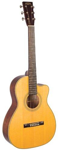 RECORDING KING RP2-626-c Studio Serie Größe 00Akustische Gitarre mit Cutaway