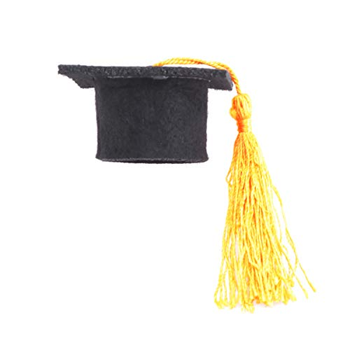 ut Graduation Cap mit Quasten Weinflasche Topper Kronkorken Abdeckungen Party Favors Graduation Foto Requisiten ()