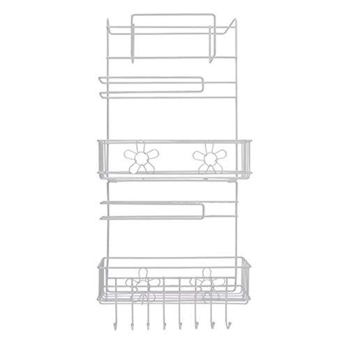 YUELANG Kühlschrank Rack-Seitenablage Seitenwand-Halter Multifunktionsküchenbedarf Organizer Haushalt Mehrschichtige Kühlschrank Lagerung (Color : A)