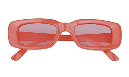 Halloweenia - Rock´n Roll Retro Brille Kostüm Sonnenbrille, (Girl Army Retro Kostüme)