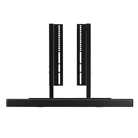 SoundXtra - Support pour TV et Barre de son Bose SoundTouch 300 - Noir