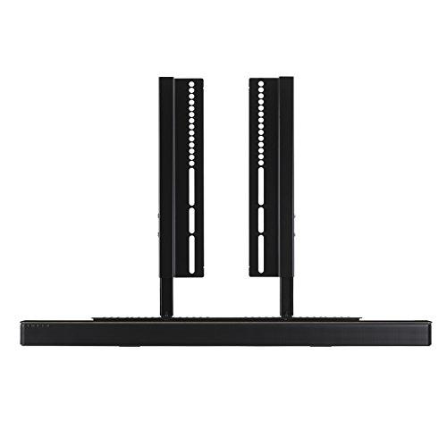 SoundXtra - Support pour TV et Barre de son Bose SoundTouch 300 et Soundbar 700 - Noir