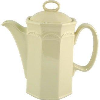Steelite v3627Monte Carlo jarra para café, marfil (Pack de 6)