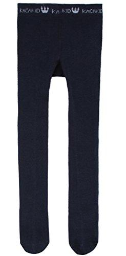 EOZY Legging Bébé Fille Chaussette Antidérapant Pantalon Extensible Souple Bleu Marine 6 mois-2 ans