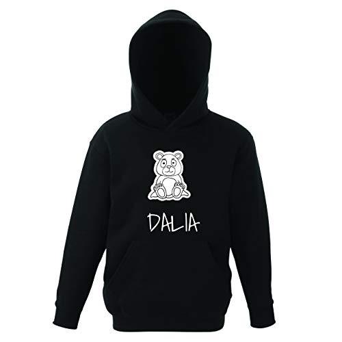 JOllipets Dalia Kinder Pullover Pulli Hoodie - Design: Bär - Größe: 164-14-15 Jahre Dalia Bar