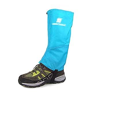 XIAXIACP Beinmanschetten, Ski-Gamaschen verschleißfeste Schneeabdeckung in Oxford-Bergsteigen Warme Schuhe-Abdeckung Einfache Reinigung für Bergwandern Wandern Klettern (M,B von XIAXIACP bei Outdoor Shop