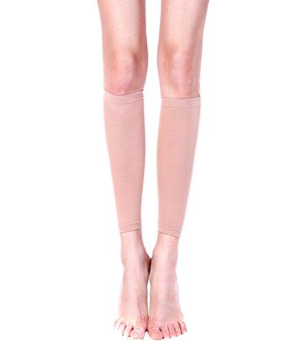 Butterme Frauen 420D elastische atmungsaktive Stretch dünne Waden Brand Fett dünne Bein Socken Schenkel Knie Hülsen Bein Former Kompressionssocken -