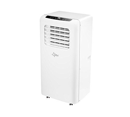 SUNTEC mobiles lokales Klimagerät IMPULS 2.6 Eco R290 [3 in 1: für Räume bis 80 m³ (~34 m²)*, Kühlen, Entfeuchten, Ventilieren mit ökologischem Kühlmittel R290, 9.000 BTU/h, EEK A]